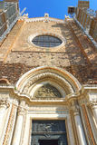 Cathedral of Santi Giovanni e Paolo, Venice, Italy Royalty Free Stock Photos
