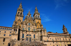Cathedral of Santiago Royalty Free Stock Photography