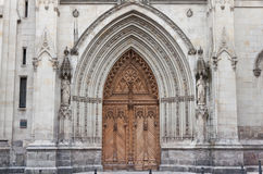 Cathedral of Santiago in Bilbao, Spain Stock Photography