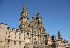 Cathedral of Santiago de Compostela Stock Images
