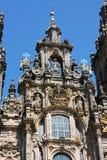 Cathedral of Santiago de Compostela royalty free stock photos