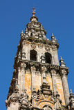 Cathedral of Santiago de Compostela Stock Photography