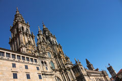 Cathedral of Santiago de Compostela Royalty Free Stock Photos