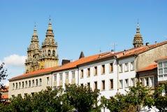 Cathedral of Santiago de Compostela. Galicia Royalty Free Stock Photo