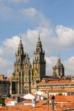 Cathedral of Santiago de Compostela. Galicia, Spain Royalty Free Stock Photos