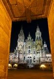 Cathedral of Santiago de Compostela Stock Photography