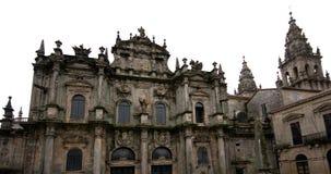 Cathedral Santiago de Compostela, Galicia. Spain Stock Image