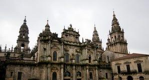 Cathedral Santiago de Compostela, Galicia. Spain Stock Photo