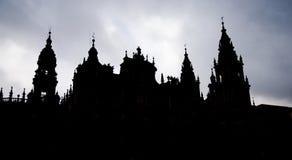 Cathedral Santiago de Compostela, Galicia. Spain Stock Photos