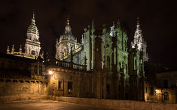The Cathedral, Santiago de Compostela Royalty Free Stock Photo