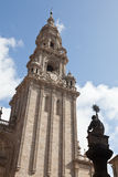 Cathedral of Santiago de Compostela in Spain Stock Photos