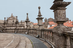 Cathedral of Santiago de Compostela in Spain Royalty Free Stock Image