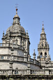 Cathedral of Santiago de Compostela, Spain Royalty Free Stock Photography
