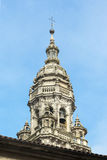 Cathedral of Santiago de Compostela (Spain). Tower of the Cathedral of Santiago de Compostela (Spain Stock Photo