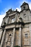 Cathedral - Santiago de Compostela, Spain Royalty Free Stock Photo