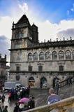 Cathedral - Santiago de Compostela, Spain Stock Photography