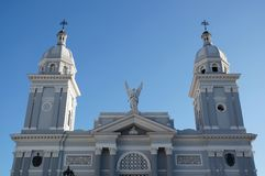 Cathedral in Santiago Stock Photos