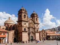 Cathedral of Santo Domingo - Cusco, Peru Royalty Free Stock Images