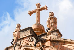Cathedral of Santo Domingo - Cusco, Peru Stock Photography
