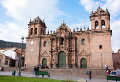 Cathedral of Santo Domingo, Cusco, Peru Stock Photo