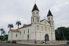 Cathedral of Sao Tome, Sao Tome and Principe, Africa Royalty Free Stock Image