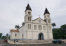Cathedral of Sao Tome, Sao Tome and Principe, Africa Royalty Free Stock Photography