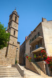 Cathedral of Sartene, South Corsica, France Stock Photo