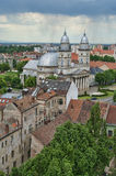 Cathedral in Satu Mare. The Roman Catholic cathedral in Satu Mare, Romania stock photos