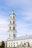 Cathedral of Savior with bell tower in Yelabuga Stock Images