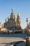 Cathedral of the Savior on Blood Royalty Free Stock Photography