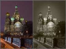 Cathedral Savior on Blood Saint Petersburg Russia Stock Photography