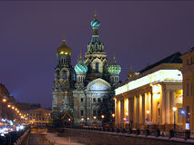 Cathedral Savior on Blood Saint-Petersburg Russia Stock Image