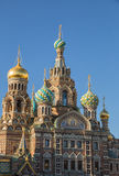 Cathedral of the Savior on Blood Royalty Free Stock Images