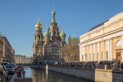 Cathedral of the Savior on Blood Royalty Free Stock Photos