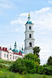 Cathedral of the Savior on hill in Yelabuga Stock Images