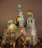 Cathedral of the Savior on Spilled Blood in St. Petersburg Royalty Free Stock Photos
