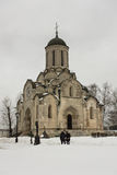 The Cathedral of the Saviour & x28;Spassky Cathedral& x29; in the Andronikov monastery. Stock Photo