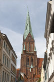 The Cathedral at Schwerin Stock Image
