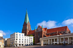Cathedral Schwerin Royalty Free Stock Photo