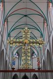 In the cathedral of Schwerin. Stock Image