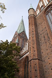 Cathedral of Schwerin Stock Photography