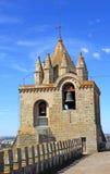 Cathedral Se in Evora, Alentejo, Portugal. Royalty Free Stock Photo