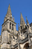 Cathedral of Sees in Normandie Stock Photo