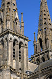 Cathedral of Sees in Normandie Royalty Free Stock Photo