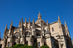 Cathedral of Segovia Royalty Free Stock Photography