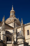 Cathedral of Segovia Stock Images