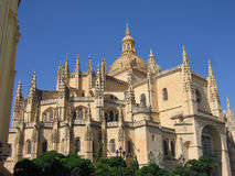 Cathedral in Segovia. The Cathedral in Segovia, Spain Royalty Free Stock Photo