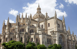 Cathedral of Segovia Royalty Free Stock Photos