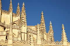 The Cathedral in Segovia Royalty Free Stock Photo