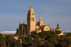 Cathedral in Segovia royalty free stock photos